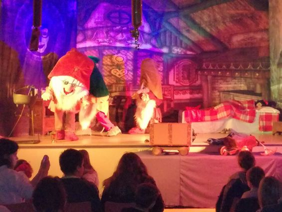 Spectacle blanche neige et les 7 nains